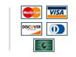 We accept all credit cards