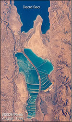 Dead Sea Evaporation Pools